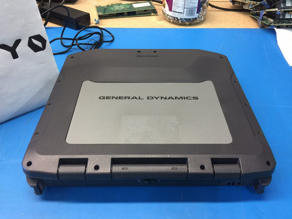 General Dynamics GD8200 Toughbook i7 2.2GHz 8GB 120GB SSD *No OS Win 7Pro COA*
