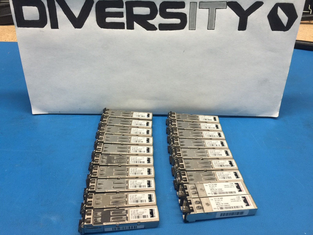 Cisco 1000BASE-SX 850nm Transceiver Module GLC-SX-MM 30-1301-02 *Lot of 19*