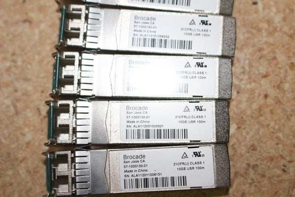 Genuine Brocade 10GE USR 100m GBIC Transceiver 57-1000130-01 SFP Original Optic