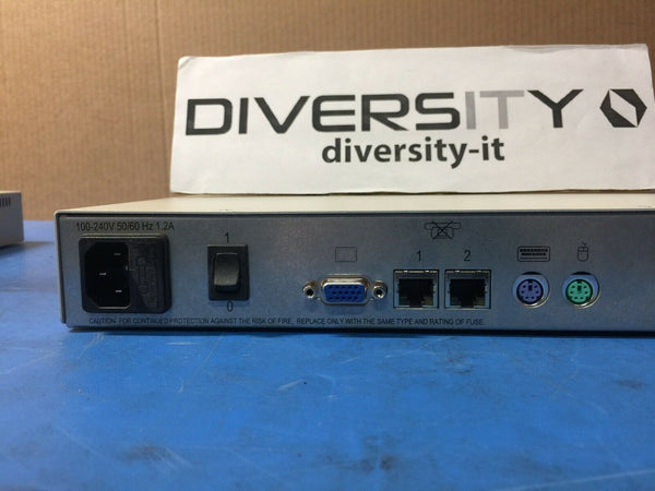 Avocent AMX 5111 User Station KVM Switch AMX5111-01 520-435-501