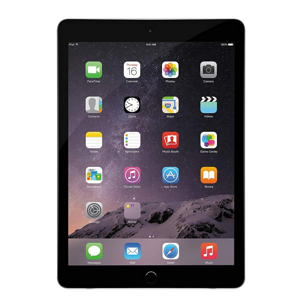 MNV22LL/A - Apple iPad Air 2, 64 GB, Space Gray, (Refurbished)