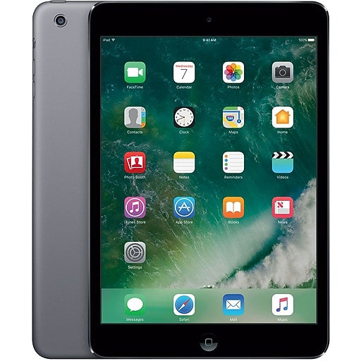 Apple - iPad with Wi-Fi - 32GB - Space Gray - MR7F2LL/A - Brand New