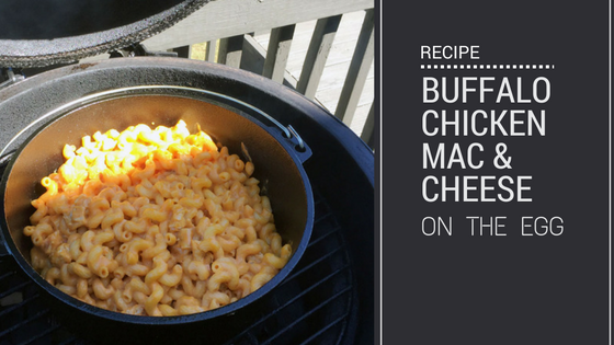 Smoked Buffalo Chicken Mac and Cheese
