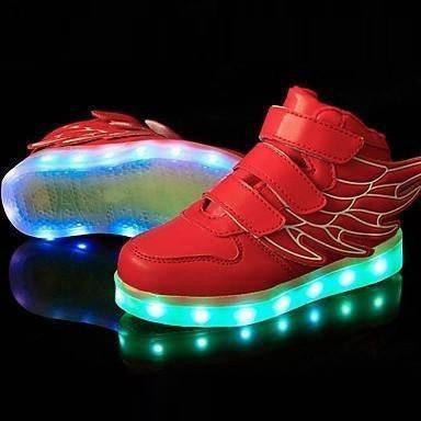 LED Shoes - Flashez Red - LED Thunder Shoes