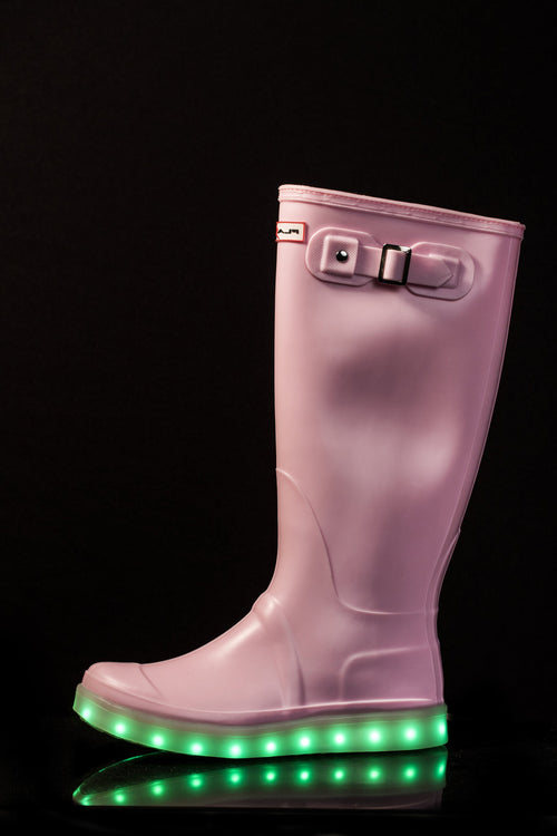 Flashez LED Welly - Candy Pink6