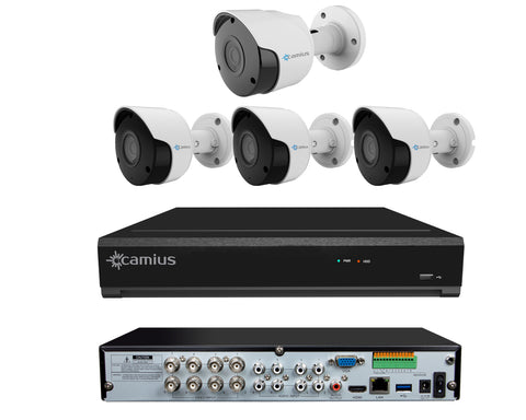 Camius Extreme HD 4K DVR Security Camera System