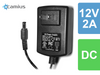 12V DC 2A Power adaptor for CCTV analog and IP security cameras