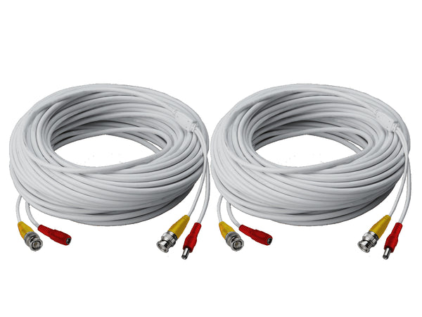 Video Power BNC cable for analog CCTV security cameras (over coax)