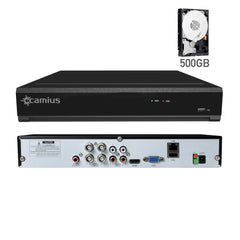 Camius HD 1080p Lite 4 Channel DVR security camera system