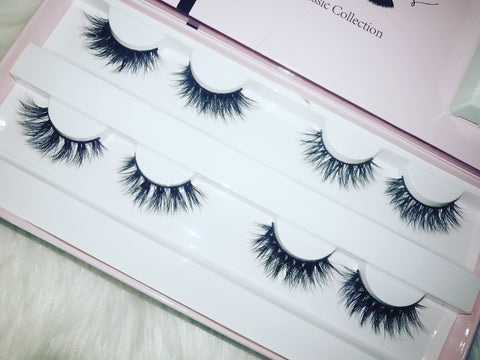 Pretti Little Lashes 4 pairs  Collection mixed