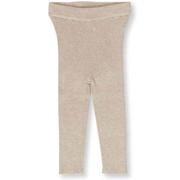 Grown Ribbed Marle Legging Oatmeal