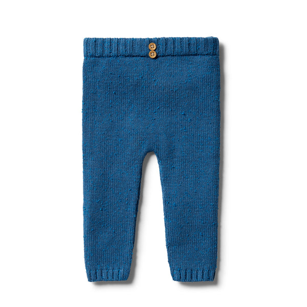 Wilson and Frenchy Knitted Legging Denim Fleck