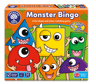 Orchard Games Monster Bingo