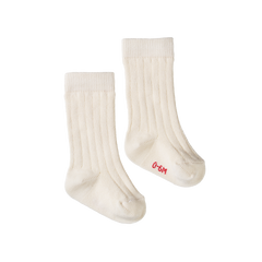Nature Baby Organic Rib Socks Natural