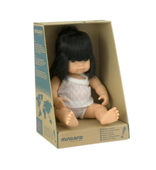 Miniland Doll 38cm Asian Girl