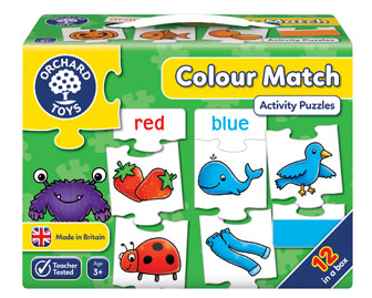 Orchard Games Jigsaw - Colour Match
