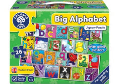 Orchard Games Big Alphabet Poster and Puzzle