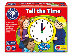 Orchard Games Tell The Time Lotto
