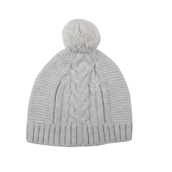 Jujo Baby Fine Knit Cable Beanie