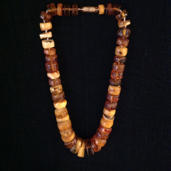 Amber Necklace Graduated
