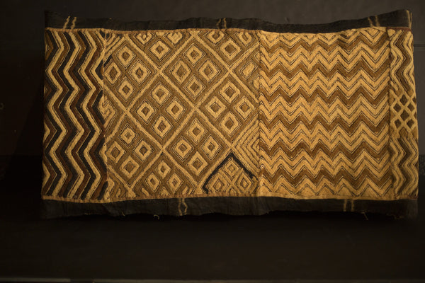 Antique African Kuba Cloth