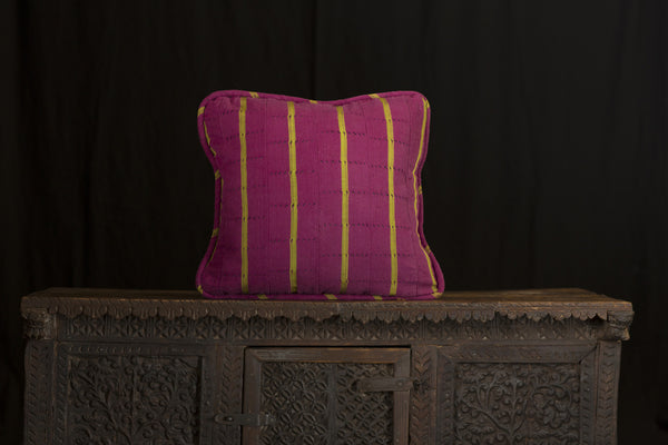 Antique African Cloth Pillow