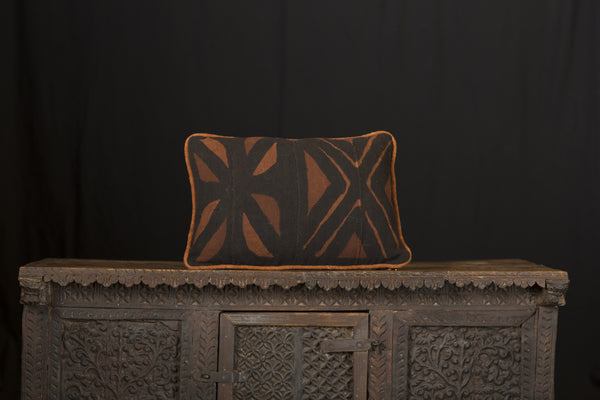 Antique African Mud cloth Pillow