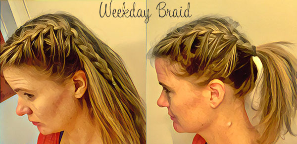 An Easy Weekday Braid and Basic Braiding Tips