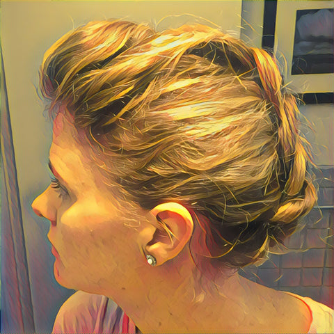 SunCare for Your Hair: SunQuist Faux-Hawk Dutch Braid Final Side