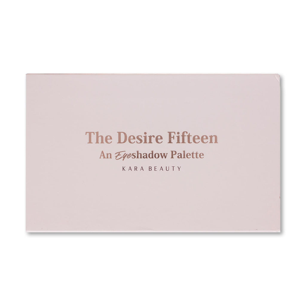 ES33 - The Desire Fifteen Eyeshadow Palette - Coming soon!