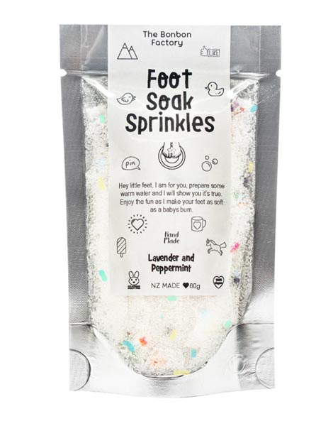 Sprinkles Foot Soak