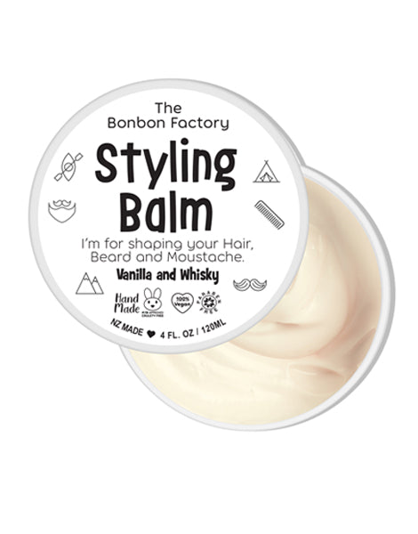 Smooth Cream Styling Balm - Vanilla + Whisky