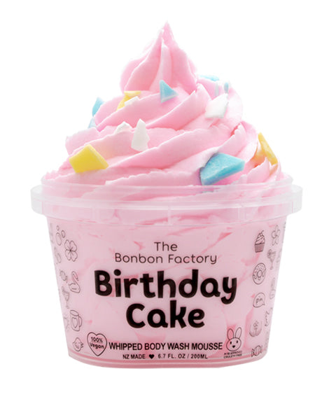 Body Wash Whipped Mousse - Birthday Cake