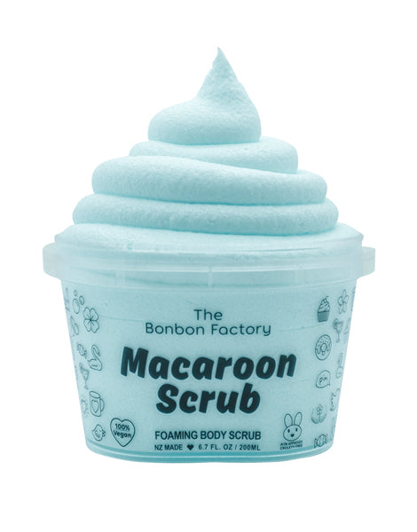 Foaming Body Scrub - Lollie Mix Macaroon Scrub