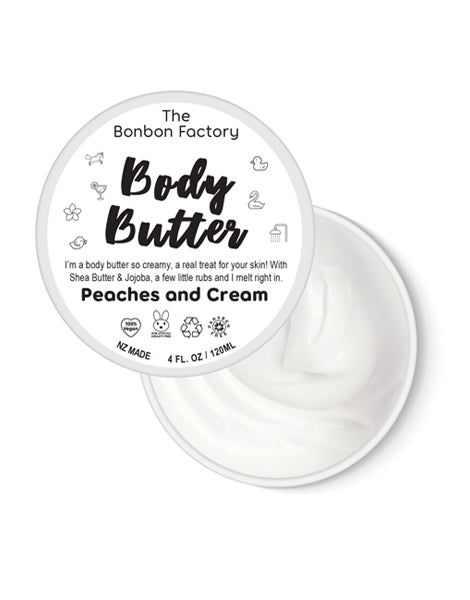 Body Butter - Peaches & Cream