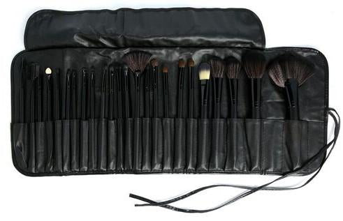BEAUTY CREATIONS 24 PIECE BLACK WIDOW BRUSH SET