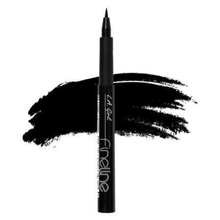 LA Girl Fineline Liquid Eyeliner Pen Black GLE721