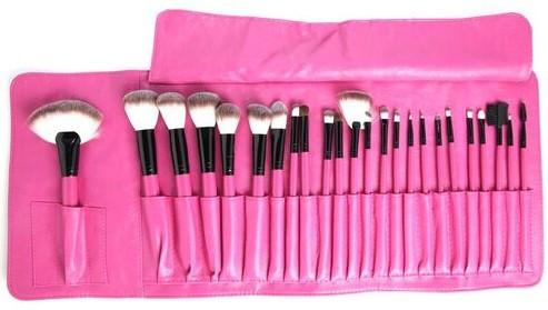 24 PIECE PINK PARADISE HOT PINK BRUSH SET