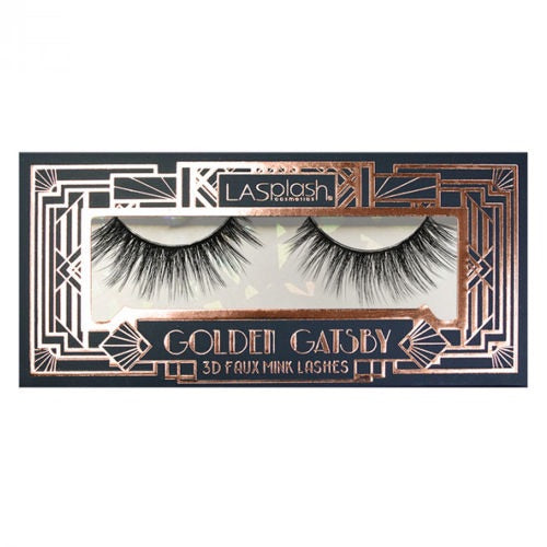 Golden Gatsby 3D Faux Mink Lashes (00376) Tinker