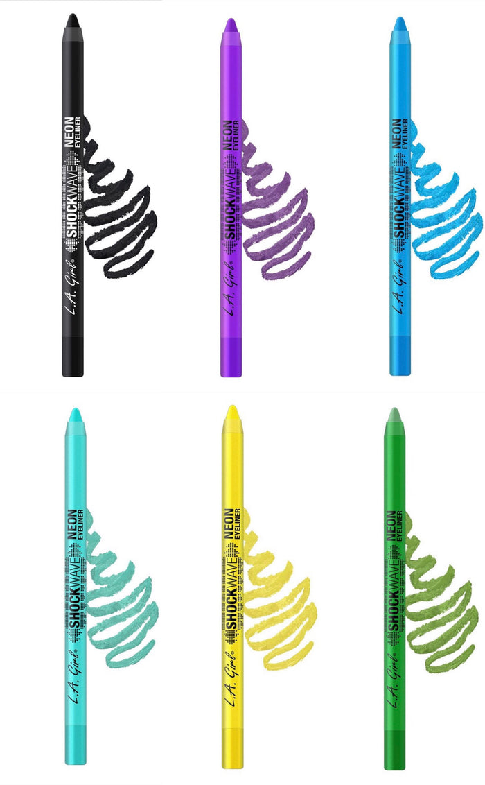 Shockwave Neon Eye Liner Collection 6 Pack