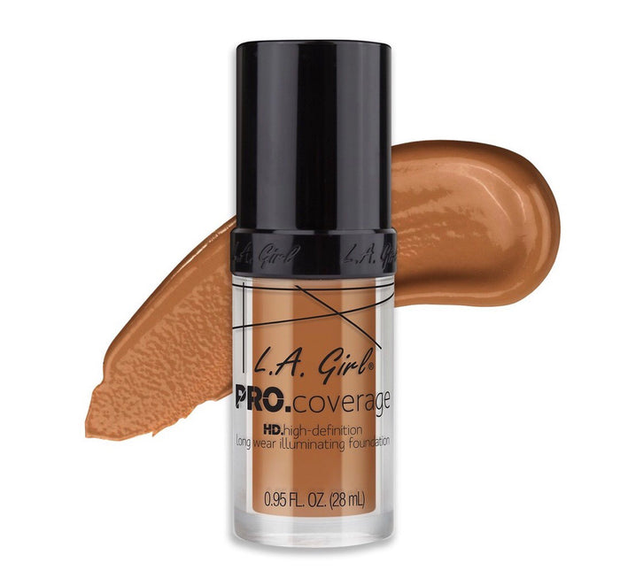 Pro Coverage HD Long Wear Illuminating Foundation Warm Caramel (GLM652)