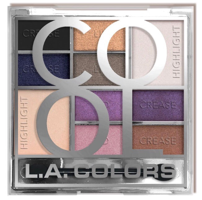 Cool Color Block Eyeshadow Palette CES137