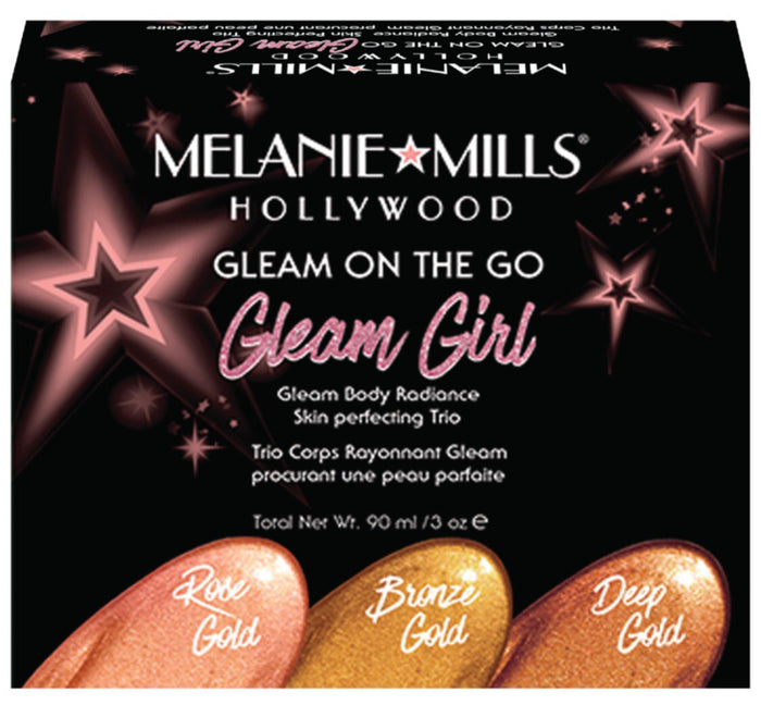 Gleam Girl - Gleam On The Go Body Radiance Kit (Darker Shades)