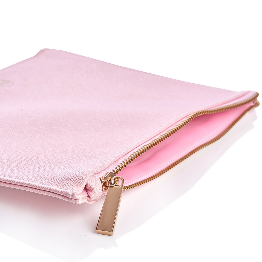 Luxury Pink Makeup Bag