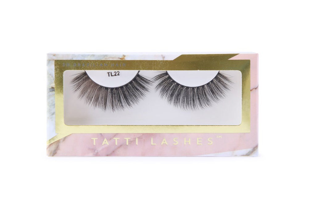 TL22 - 3D Brazilian Silk Lashes
