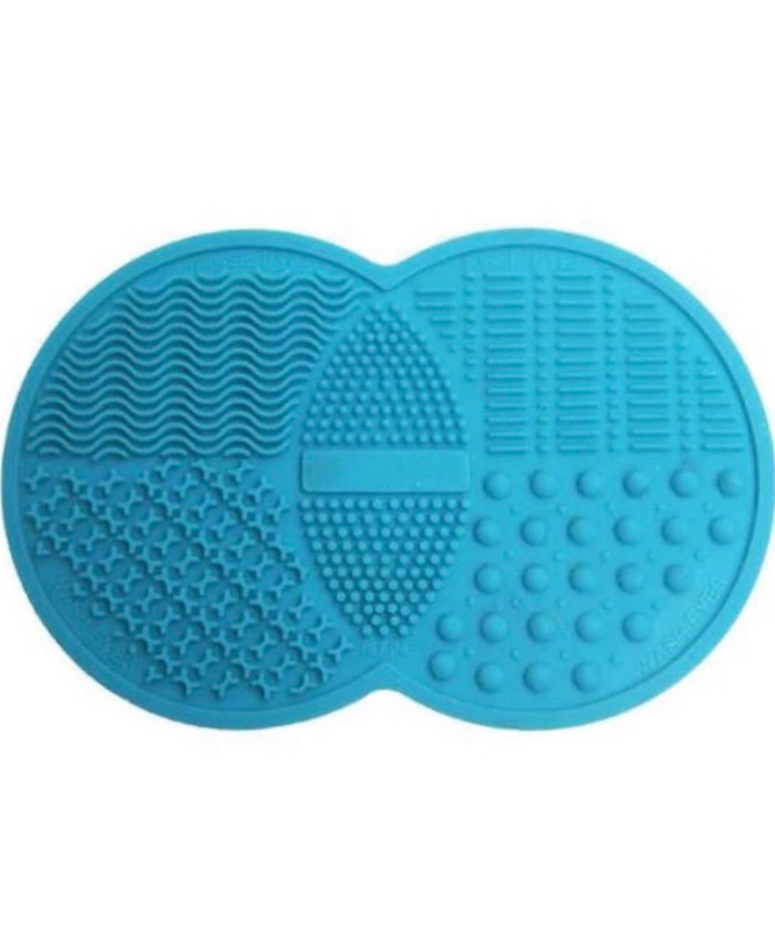 Brush Cleaning Silicone Mat | Blue