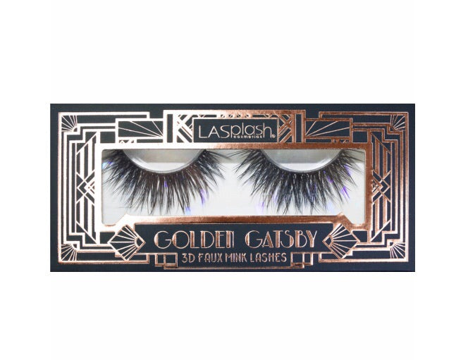 Golden Gatsby 3D Faux Mink Lashes (00374) Afternoon Tea