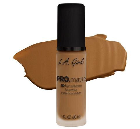 Pro Matte HD Long Wear Foundation Caramel (GLM681)