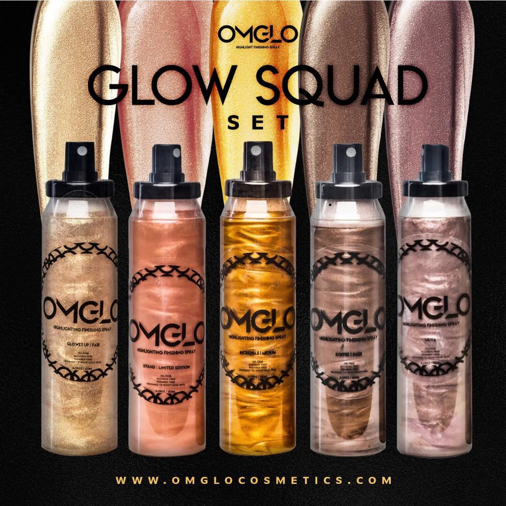 Glow Squad Finishing Spray Set Full Size