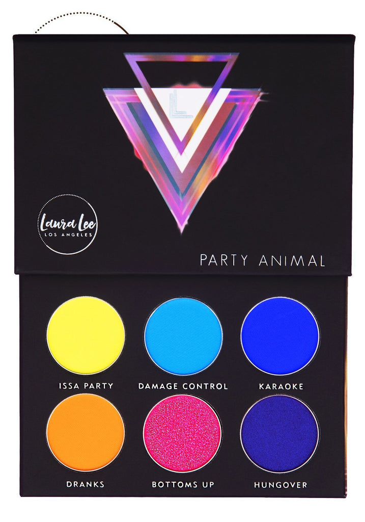 Pressed Pigment Palette - Party Animal